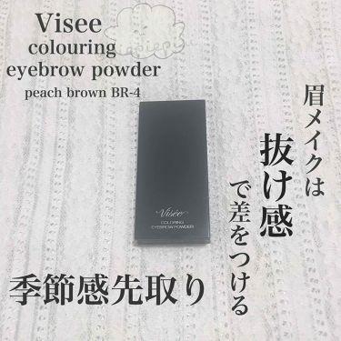 リシェ カラーリング アイブロウパウダー/Visee/パウダーアイブロウを使ったクチコミ(1枚目)