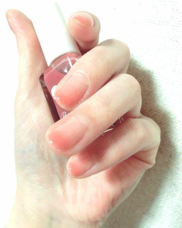 お直しさんのネイルファンデーション/パラドゥ/マニキュアを使ったクチコミ(2枚目)