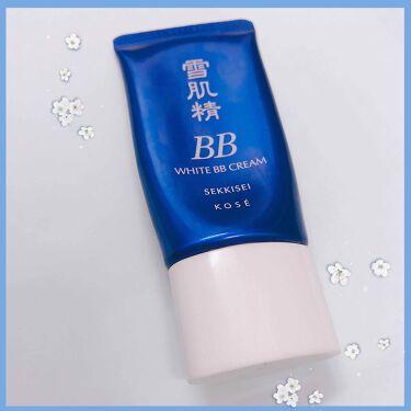 ホワイト BB クリーム モイスト/雪肌精/化粧下地を使ったクチコミ(1枚目)
