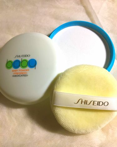 資生堂ベビーパウダー(プレスド)/ベビー/デオドラント・制汗剤を使ったクチコミ(2枚目)