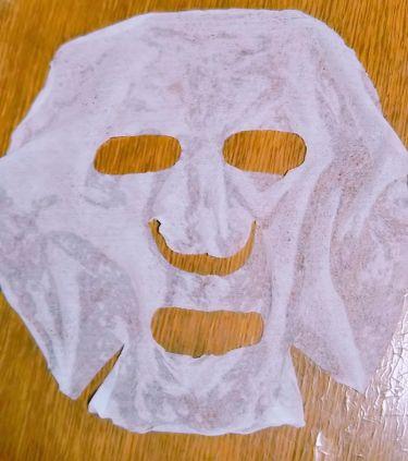 圧縮タイプフェイシャルマスク/DAISO/シートマスク・パックを使ったクチコミ(3枚目)