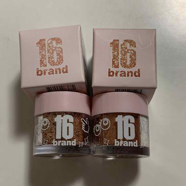 キャンディロックパールパウダー/16brand/パウダーアイシャドウを使ったクチコミ(1枚目)