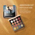 ZEESEA ZEESEAエジプトシリーズ  アイシャドウパレット (16色)アンダーソンの猫
