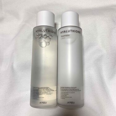 HYALUTHIONE Soonsoo Essence Toner/A'PIEU/化粧水を使ったクチコミ(1枚目)