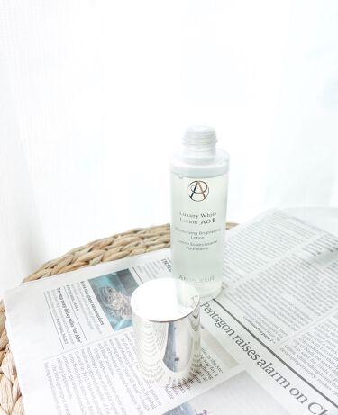 ラグジュアリーホワイト ローションAO II/アンプルール/化粧水を使ったクチコミ(1枚目)