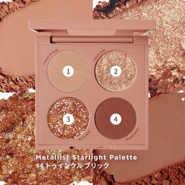 【公式】touch in SOL on LIPS 「メタリストスターライトパレット🌟#星空パレット #ふわっと密着..」(4枚目)