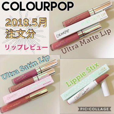 ColourPop(カラーポップ) ULTRA SATIN LIP