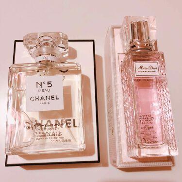 シャネル N°5 ロー オードゥ トワレット (ヴァポリザター)/CHANEL/香水(レディース)を使ったクチコミ(2枚目)