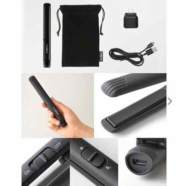 スタイリッシュ モバイルヘアアイロン MHS-0840/mod's hair(美容家電)/ヘアケア美容家電を使ったクチコミ(3枚目)