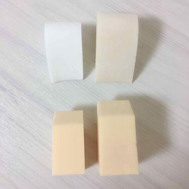 ジェリータッチスポンジ ハウス 6P/ロージーローザ/パフ・スポンジを使ったクチコミ(3枚目)