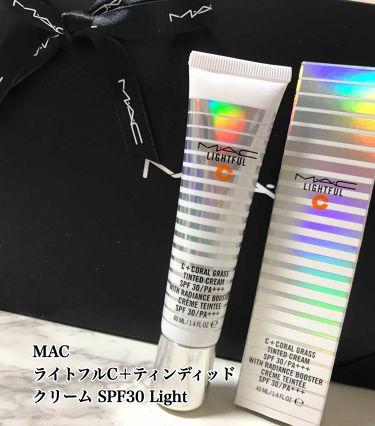 ライトフル C ティンティッド クリーム SPF 30/M・A・C/化粧下地を使ったクチコミ(1枚目)