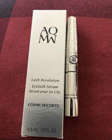 AQ MW ラッシュ レボリューション/COSME DECORTE/まつげ美容液を使ったクチコミ(2枚目)