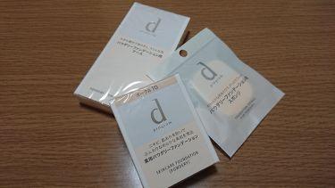 薬用 スキンケアファンデーション(パウダリー)/d プログラム/パウダーファンデーションを使ったクチコミ(1枚目)