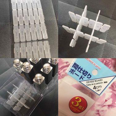 リップスタンド/DAISO/その他化粧小物を使ったクチコミ(4枚目)