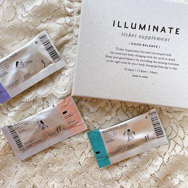 チケットサプリ/ILLUMINATE/健康サプリメントを使ったクチコミ(1枚目)