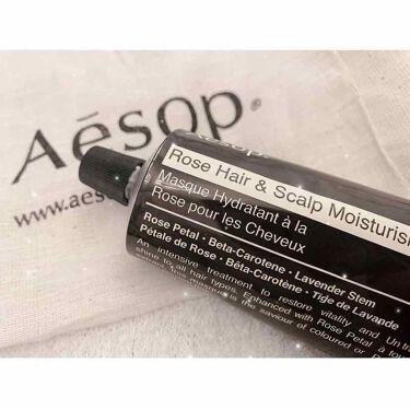 ヘアースカルプ モイスチャー マスク/Aesop/頭皮ケアを使ったクチコミ(2枚目)
