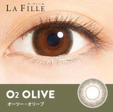 LA FILLE (ラ・フィーユ)/LA FILLE/カラーコンタクトレンズを使ったクチコミ(4枚目)