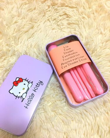 その他 HELLO KITTY mini brush kit