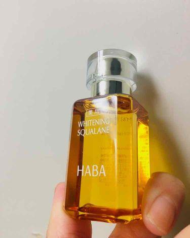 みさこさんの「HABA薬用ホワイトニングスクワラン<フェイスオイル・バーム>」を含むクチコミ