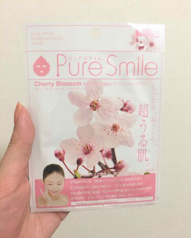 エッセンスマスク サクラ/Pure Smile/シートマスク・パックを使ったクチコミ(1枚目)