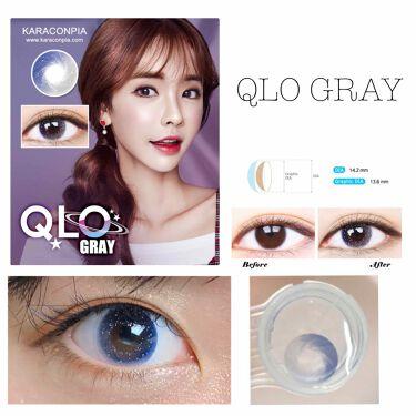 カラーコンタクト QLO Gray