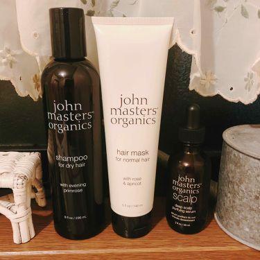 イブニングプリムローズシャンプー/john masters organics/シャンプー・コンディショナーを使ったクチコミ(1枚目)
