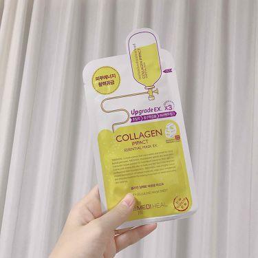 collagen impact /メディヒール/シートマスク・パックを使ったクチコミ(1枚目)