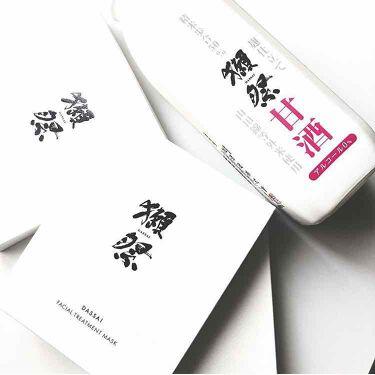 獺祭フェイシャルマスク/dassai beauty/シートマスク・パックを使ったクチコミ(1枚目)