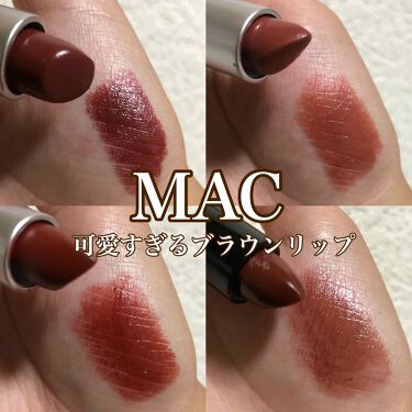リップスティック/M・A・C/口紅を使ったクチコミ(1枚目)
