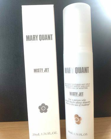 ミスティー ジェット/MARY QUANT/ミスト状化粧水を使ったクチコミ(1枚目)