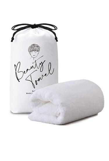 ReFa HAIR DRY TOWEL White