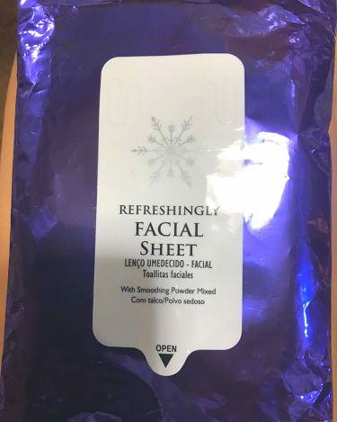 ダイソーフェイシャルシート/DAISO/デオドラント・制汗剤を使ったクチコミ(1枚目)