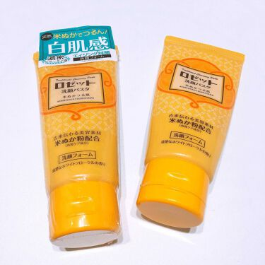 うんさん🤖さんの「ロゼットロゼット洗顔パスタ 米ぬかつる肌<洗顔フォーム>」を含むクチコミ