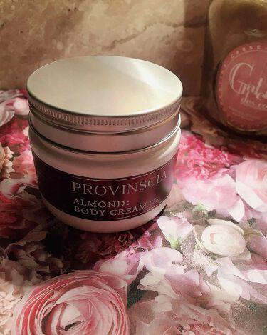プロバンシア フレグランスボディクリーム アーモンドの香り/ペリカン石鹸/ボディクリームを使ったクチコミ(1枚目)