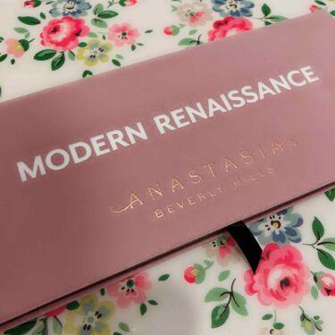 MODERN RENAISSANCE/アナスタシア/パウダーアイシャドウを使ったクチコミ(1枚目)