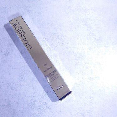 ディオールショウ 24H スティロ ウォータープルーフ/Dior/ペンシルアイライナーを使ったクチコミ(1枚目)