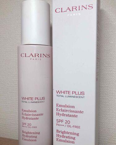 ホワイト-プラス ブライト デイ エマルジョン/CLARINS/乳液を使ったクチコミ(1枚目)
