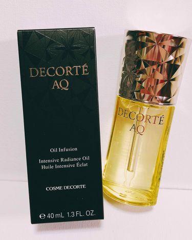 AQ オイル インフュージョン/COSME DECORTE/美容液を使ったクチコミ(1枚目)