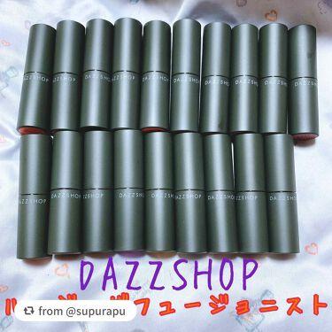 ルージュ ザ フュージョニスト/DAZZSHOP/口紅を使ったクチコミ(1枚目)