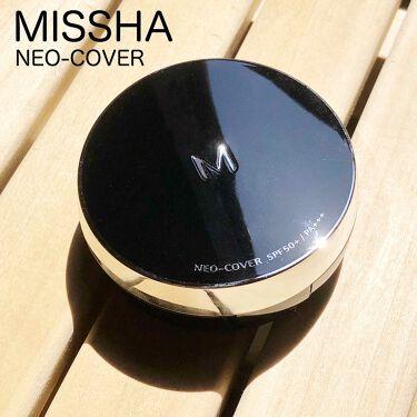 M クッション ファンデーション(ネオカバー)/MISSHA/クッションファンデーションを使ったクチコミ(1枚目)
