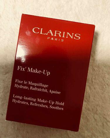 フィックス メイクアップ/クラランス/ミスト状化粧水を使ったクチコミ(3枚目)