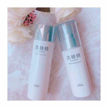 黒糖精プレミアム パーフェクトローション/コーセーコスメポート/化粧水を使ったクチコミ(1枚目)