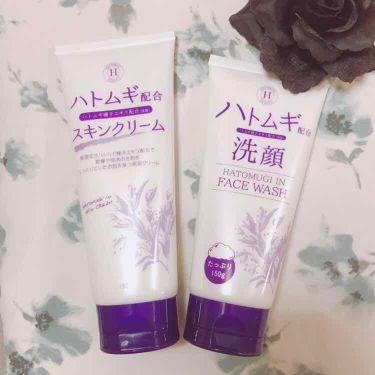 ゆうきさんの「岡インターナショナルハトムギ洗顔フォーム<洗顔フォーム>」を含むクチコミ
