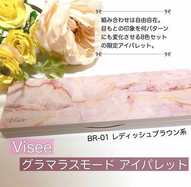 リシェ グラマラスモード アイパレット/Visee/パウダーアイシャドウを使ったクチコミ(1枚目)