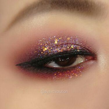 Glitterally Obsessed/ColourPop/パウダーアイシャドウを使ったクチコミ(2枚目)