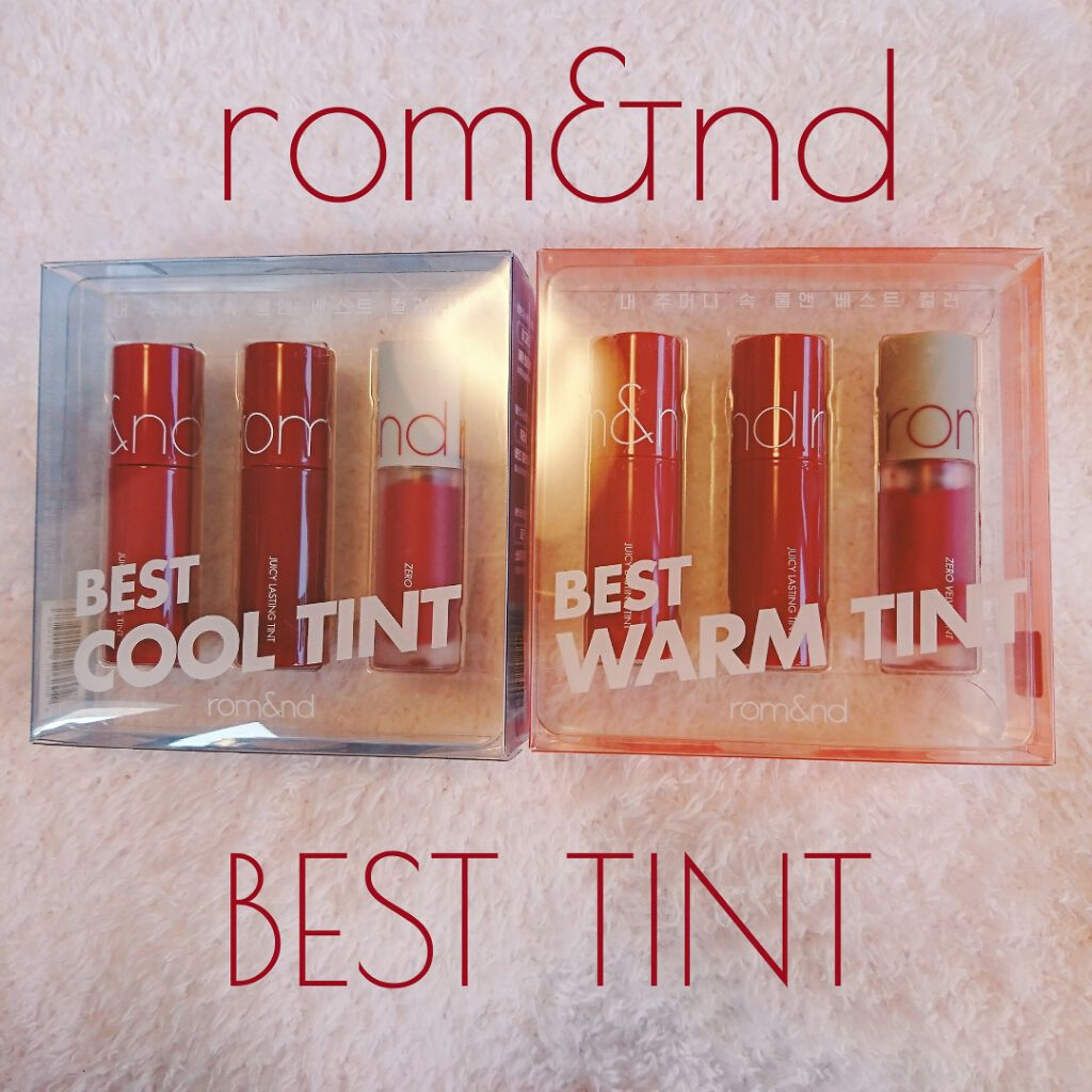 BEST TINT MINI EDITION rom&nd