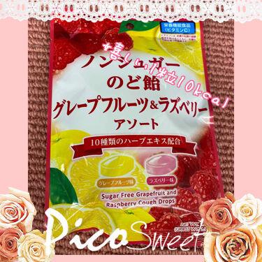 ノンシュガー 果実のど飴/カンロ/食品を使ったクチコミ(1枚目)
