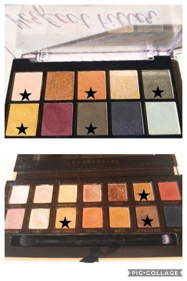 パーフェクトフィルター シャドウ パレット/NYX Professional Makeup/パウダーアイシャドウを使ったクチコミ(3枚目)
