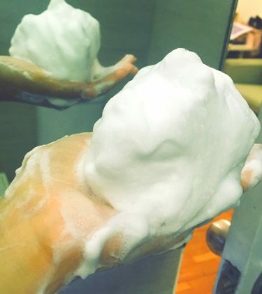 グリーンティー フォームクレンザー/innisfree/洗顔フォームを使ったクチコミ(2枚目)
