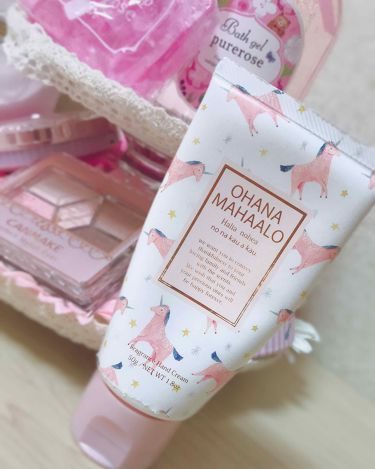 hana♡さんの「OHANA MAHAALOオハナ・マハロ フレグランス ハンドクリーム <ハリーア ノヘア><ハンドクリーム・ケア>」を含むクチコミ